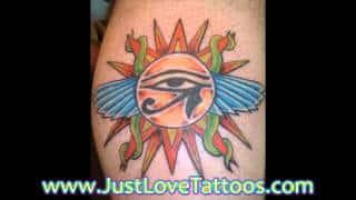 Egyptian Sleeve Tattoos