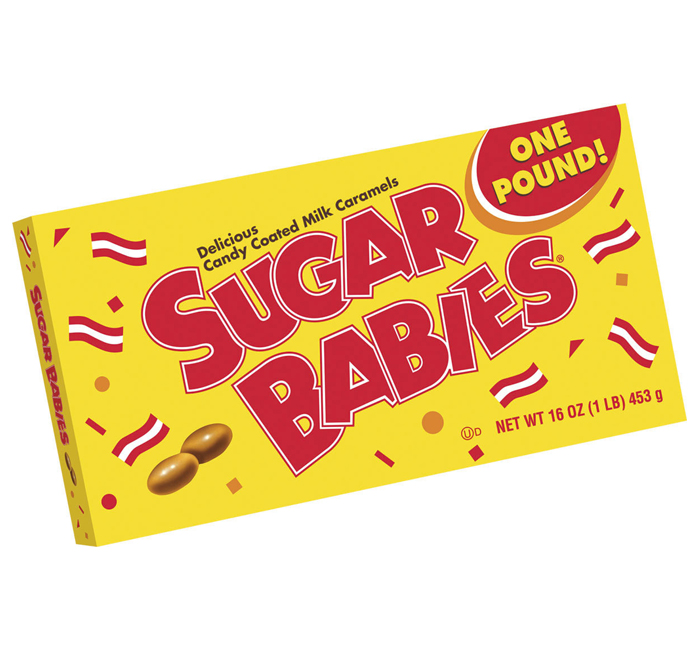 Sugar Babies Candy Coated Milk Caramels One Pound Tootsie