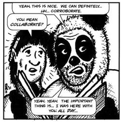 Ken & Pander Bear (art: Bob Ray Starker)