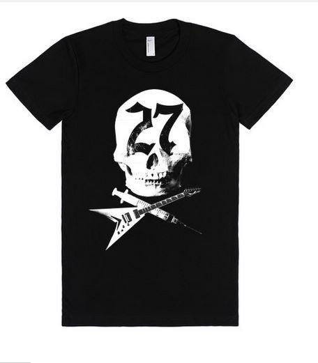 skull t-shirt babydoll