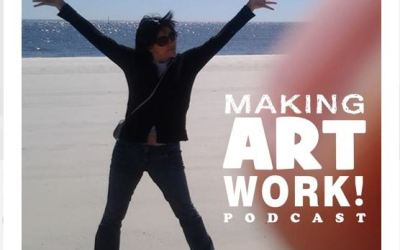 A mighty MAWP! Enrica Jang and Mark Mullaney talk about making art work