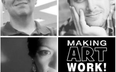 The Making Art Work Podcast, ep 10: Ophelia's Revenge LIVE