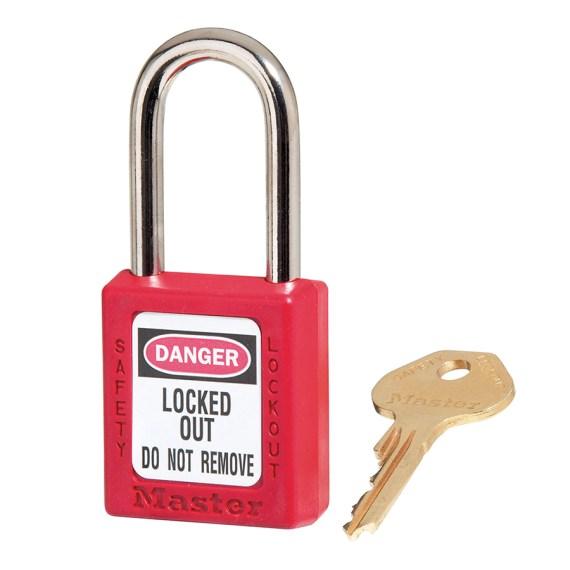 candado master lock 410red