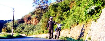 Test Ride KLX