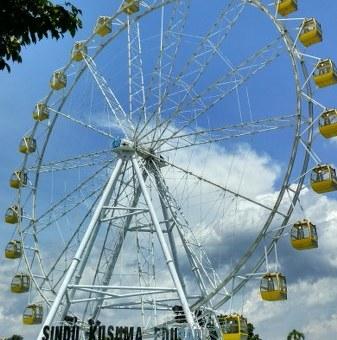 Ferris Wheel Sindu Kusuma Edupark
