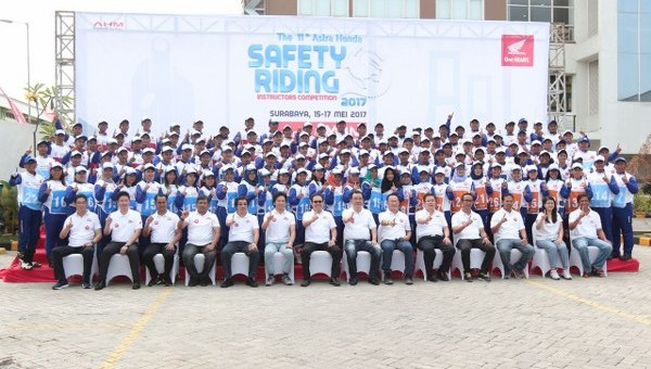 Astra Honda Safety Riding Instructor Competition