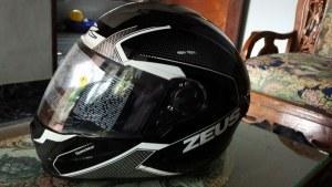Helm Zeus Z811 AL6 Black Grey