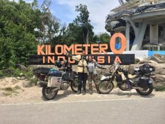 Touring Seattle Indonesia Mengendarai Suzuki