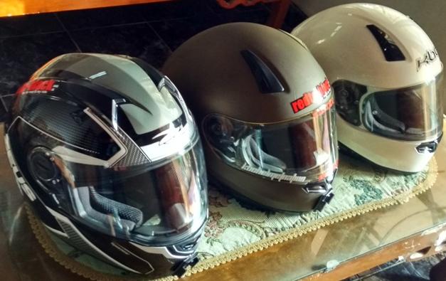 Helm Fullface Bukan Hanya untuk Motor Sport