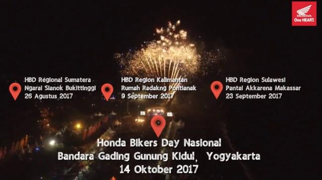 Honda Bikers Day 2017