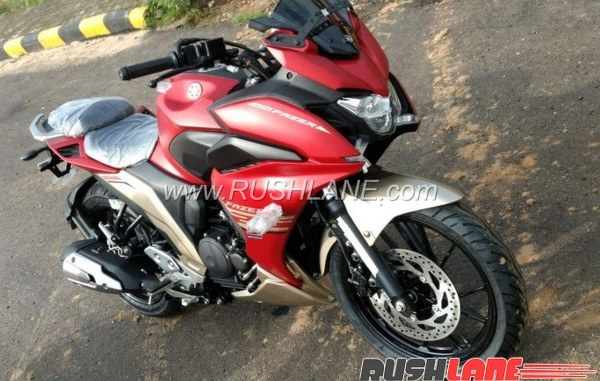 Launching Yamaha Fazer 250