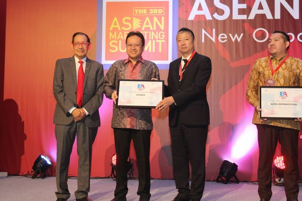 The Most Powerful Automaker Brand in Indonesia,Japan Champion Indonesia Investment,ASEAN Marketing Summit, Astra Honda Motor
