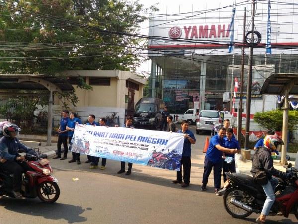 Yamaha Beri Kejutan di Hari Pelanggan Nasional