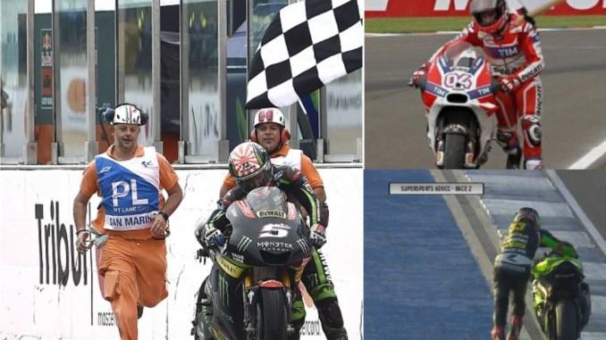 Pembalap Ini Juga Pernah Dorong Motor Sampai Finish