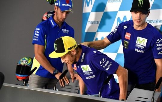 Rossi Posisi Ke 3 Vinales Pole Position