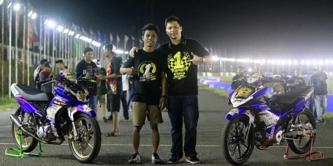Handy Tuahatu Double Winner Kejurnas Motoprix