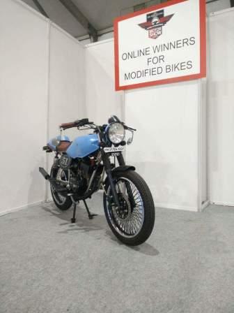 Restorasi Yamaha RXZ 135