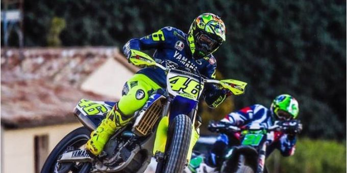 Rossi Latihan Lagi Dengan Motor Enduro