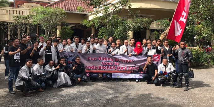 Blogger Indonesia Goes To Honda Bikers Day