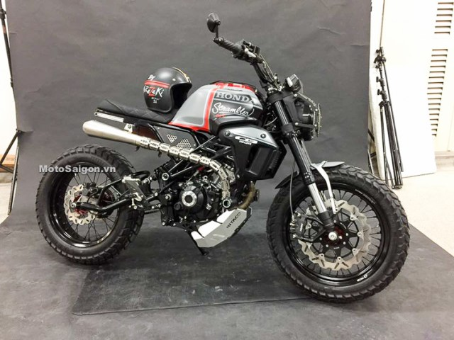 Modifikasi Honda CB150R Exmotion