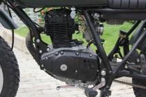 Suzuki GN 125 Tracker Army