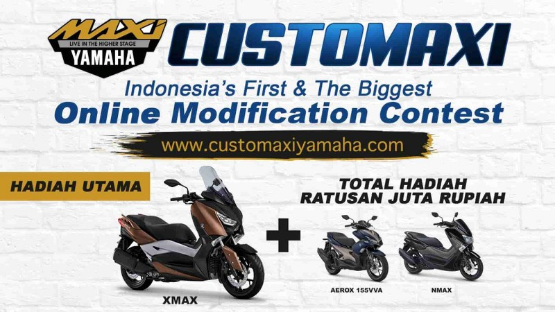 CUSTOMAXI Ajang Online Modifikasi Maxi Yamaha