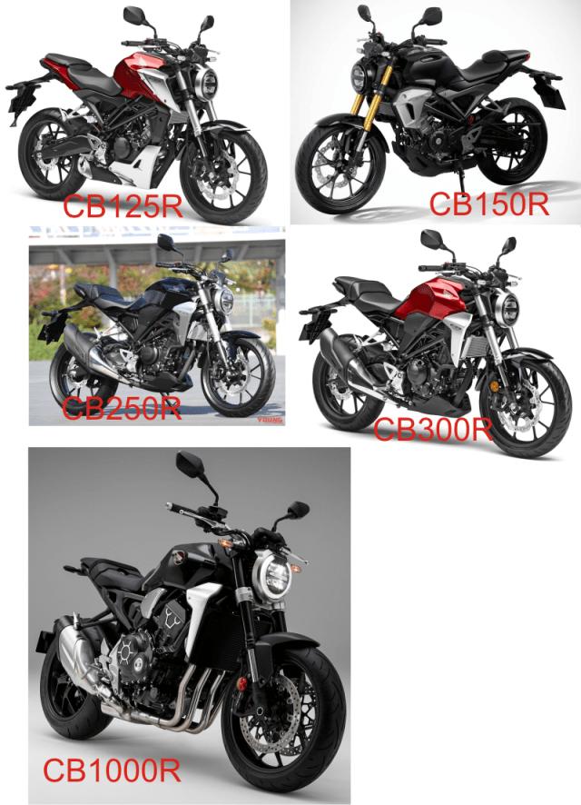 Line Up Neo Sport Cafe Honda