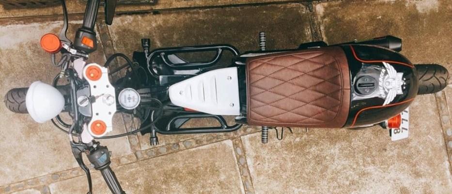 Yamaha Nouvo Dimodif Menjadi Retromatic