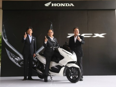 Launching Honda PCX 150 Lokal