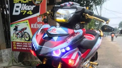 Modifikasi Yamaha MX King