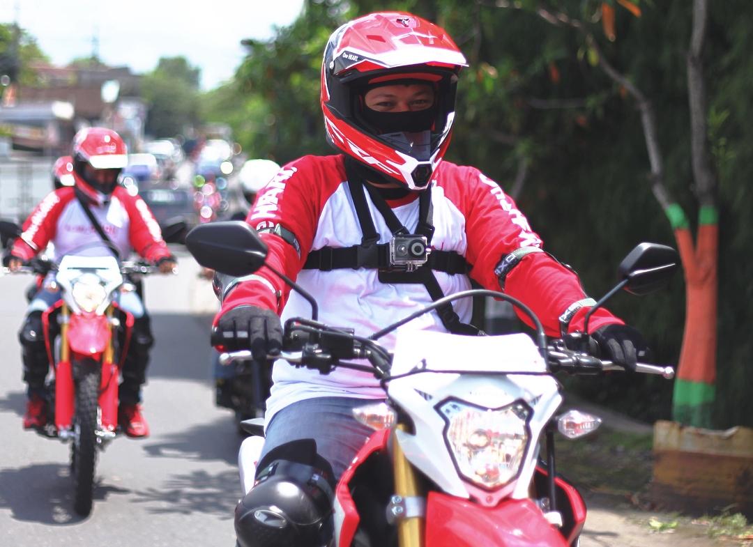 Honda CRF150L Di Jalan Raya