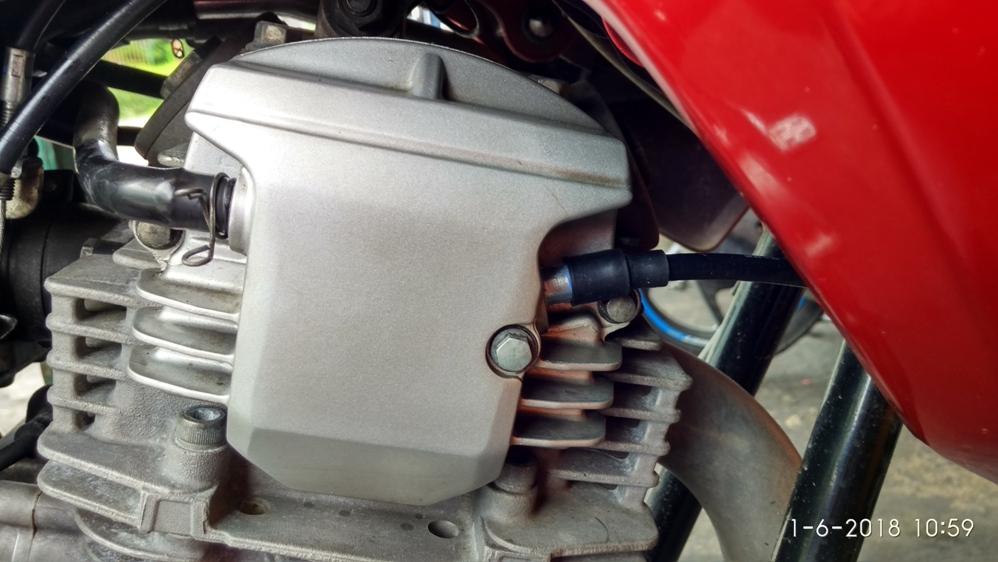 Salah Satu Cara Mengatasi Rembes Oli Di Kabel RPM Yamaha Scorpio