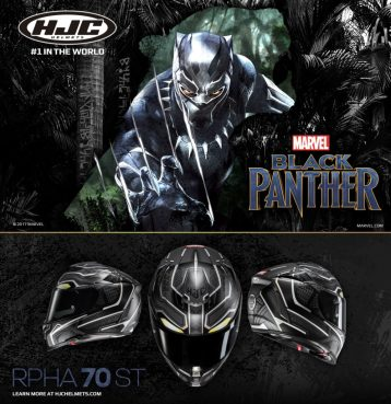 HJC RPHA 70 ST Black Panther
