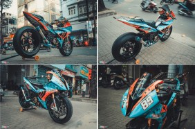Modifikasi Yamaha Exciter Bergaya BMW S1000RR-rtb-2