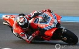 Sesi Test MotoGP Lorenzo Masih Belum Bisa Nyaman Dengan Ducati GP18