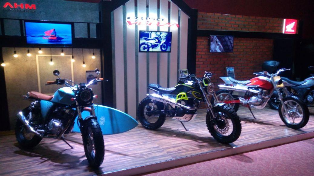 Honda CB150 Verza Versi Modifikasi