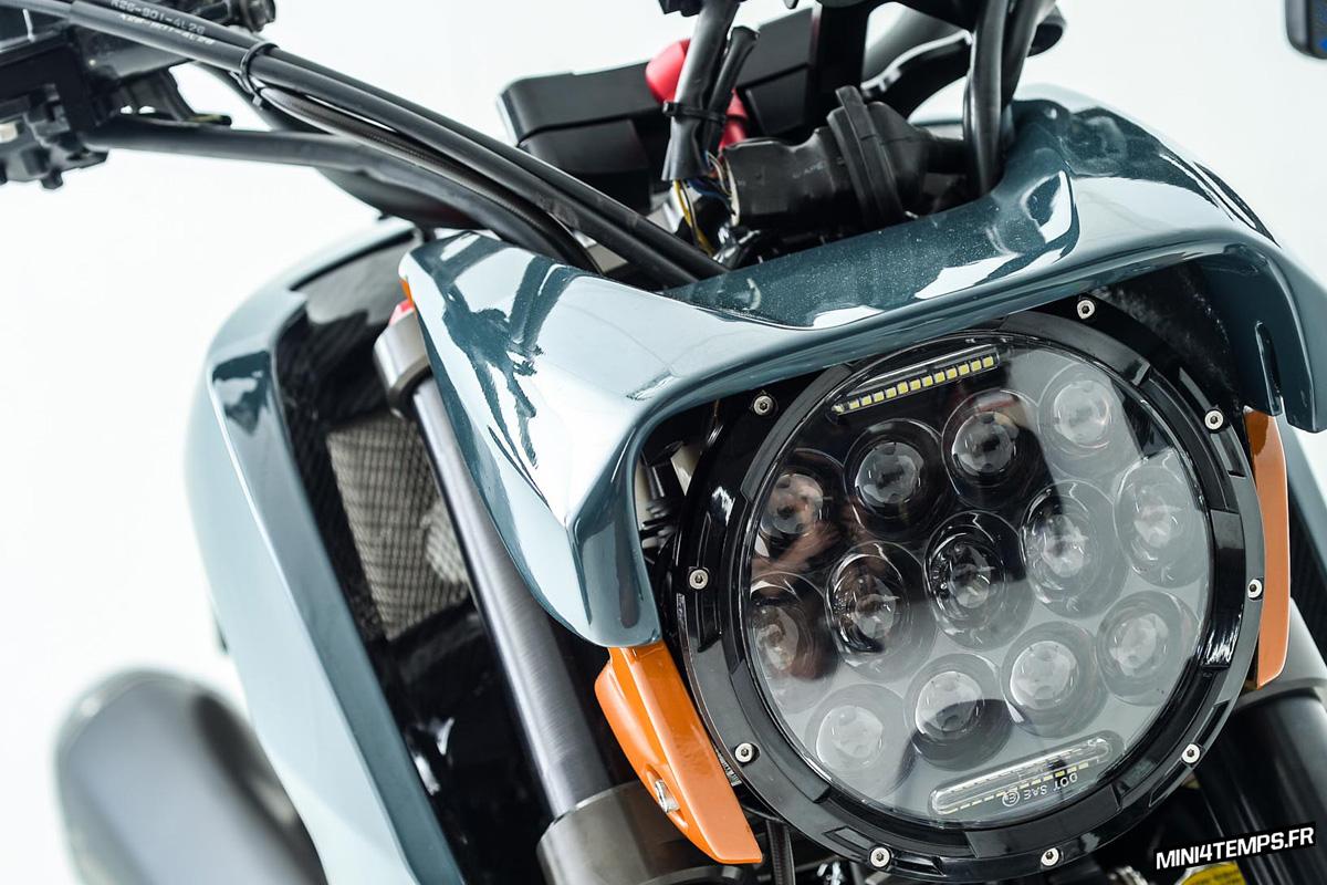Modifikasi Honda MSX 125 Cafe Racer