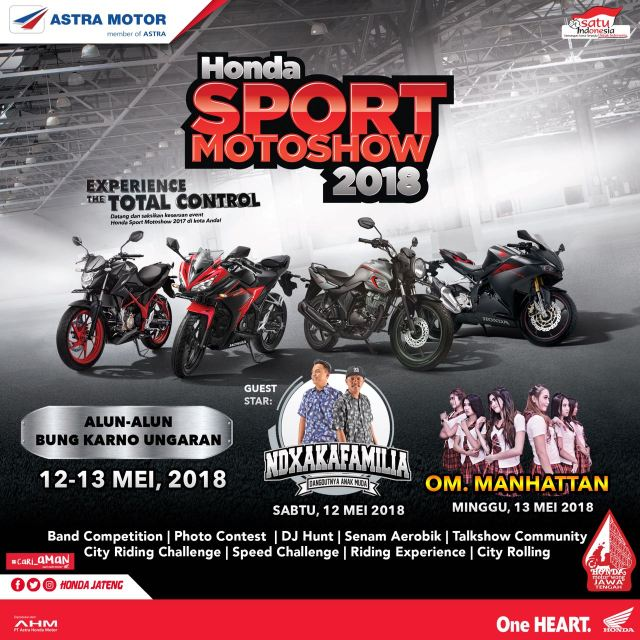 Honda Sport Motor Show 2018