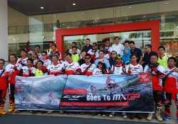 Sambut MXGP Indonesia Bikers Adventure Honda Gelar Touring Trabasan