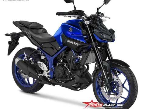 All New Yamaha MT25