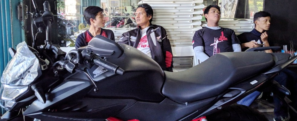 Pengenalan Honda CB150R dan CBR250RR 2018