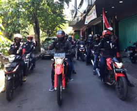 touring kemerdekaan blog vlog jateng start
