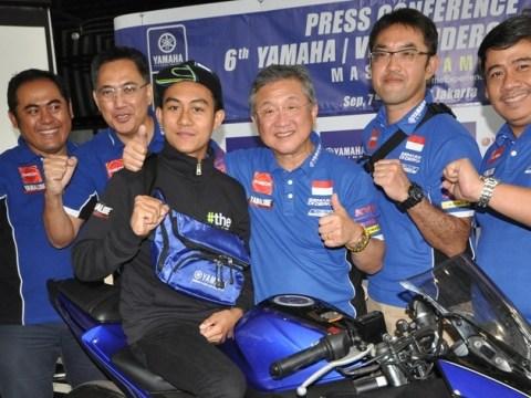 Faerozi Pembalap Muda Asal Jawa Timur Ikuti Yamaha VR46 Master Camp