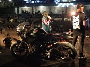 Modifikasi Honda CBR Ini Jadi Pusat Perhatian di Jamnas Honda CBR