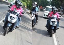 Impresi Riding Yamaha Lexi 125 VVA