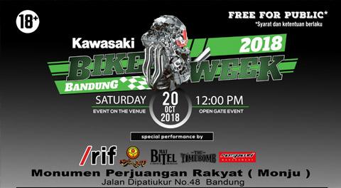 Kawasaki Bike Week Bandung