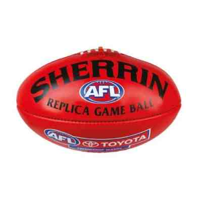 AFL Leather Replica - Red