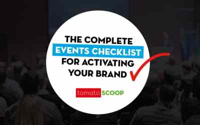 The Complete Events Checklist for Activating Your Brand