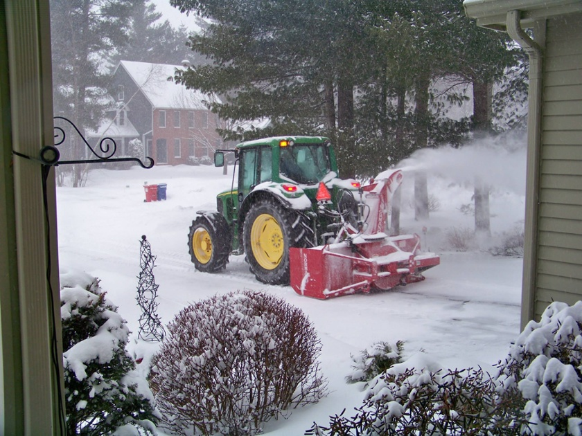 Snowblowing North Attleboro