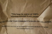 Recyclable Bags that stand up on their own